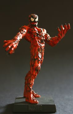 Eaglemoss Marvel Comics Carnage Lead Figurine