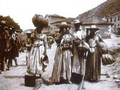 La Guaira, cerca de la Casa Guipuzcoana 1892