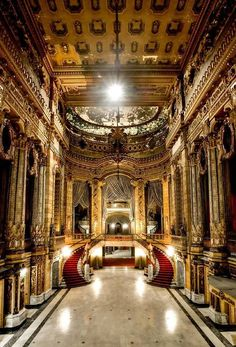 The abandoned Uptown Theater  in Chicago, Illlinois.