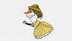Olaf Disney Princess by TortallMagic on DeviantArt Olaf Funny, Funny Frozen Memes, Funny Disney Memes, Olaf Frozen, Disney Frozen, Disney Olaf, Olaf Drawing, Drawing Sketches, Disney Sketches