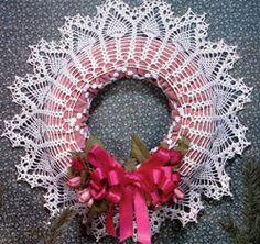 Pineapple Wreath... Free pattern!