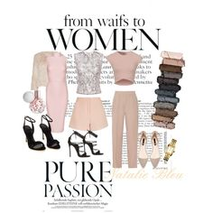 Nudes & Blush by natalie-bleu on Polyvore featuring polyvore, fashion, style, Posh Girl, Mary Katrantzou, Alice + Olivia, By Malene Birger, Finders Keepers, Dsquared2, Tory Burch and Urban Decay  #NatalieBleu #NatalieBleushoes