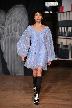 The complete Ganni Copenhagen Fall 2018 fashion show now on Vogue Runway.