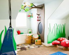 The best of kid's playroom design and decor!