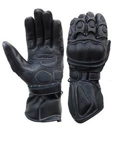 A&H Apparel Mens Motorcycle Leather Gloves Genuine Cowhide Heavy Duty Protective Street Biking Racing Leather Gloves (XXX-Large) Street Bike Racing, Street Bikes, Leather Motorcycle Gloves, Leather Gloves, Winter Cycling, Keep Warm, Cowhide Leather, Motocross, Bikers