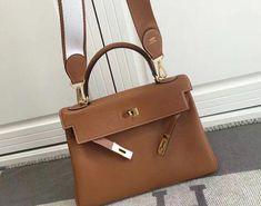 99c80c466b28 Hermes Kelly 32cm Togo Leather with Amazon Strap 2016 Khaki