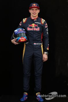 Max Verstappen, Scuderia Toro Rosso, wooden shoes not available.
