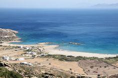 Maganari beach in Ios
