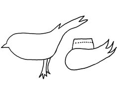 How To Make Felt Bird Brooches  Bird Template Template And Bird