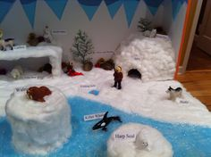 Arctic Tundra Food Chain in Worksheets