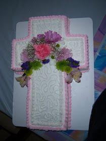I Made the Cake: Confirmation/Baptism Cake