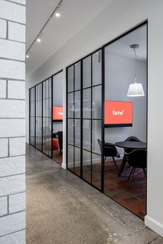 Meeting rooms at FAME's Minneapolis office