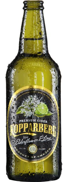 Kopparberg Elderflower & Lime Cider 500mL