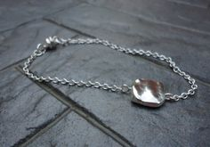 Delicate Silver Chain Bracelet - good for layering