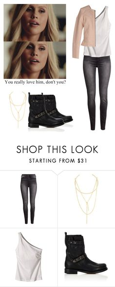 """""""Rebkah Mikaelson - The originals"""" by shadyannon ❤ liked on Polyvore featuring H&M, Jules Smith, Patagonia, rag & bone and Vero Moda"""