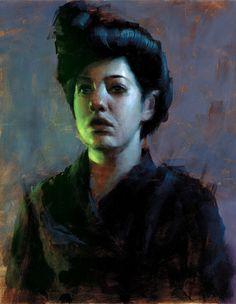 ♀ Painted Art Portraits ♀ Ryan Mango