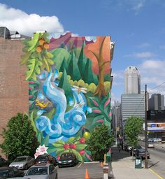 Urban Paradise | Mural Locator  Urban Paradise Mural Approximate Location: 1410 5th Ave, Pittsburgh, Pennsylvania 15219, United States