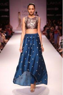 Payal Singhal Indian Wear Collection : NINA SKIRT SET
