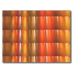 Golden Red Sparkle Shades - ColorCraft Post Cards