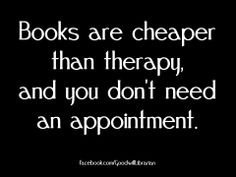 cheaper than therapy!
