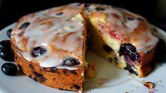 Receita de Bolo de Mirtilo/Blueberry