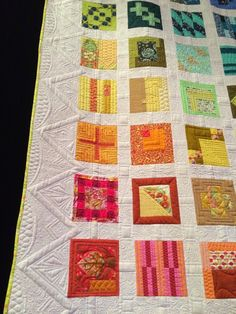 City Sampler quilt by Tula Pink.  Quilting by Angela Walters.  Photo by Quilt Vine.
