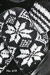 Men's Two Needle Norwegian Mittens pattern