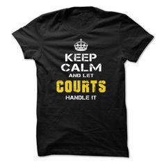 Let COURTS handle it! T Shirt, Hoodie, Sweatshirt