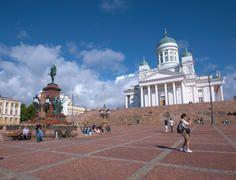 Senate Square (c) Ewan Bell / Visit Helsinki Material Bank