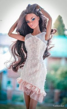 In search of doll residences young children? We have an excellent scope of the police chase wonderful children's doll buildings. Barbie Style, Barbie Life, Barbie World, Barbie Dress, Barbie Clothes, Barbie Barbie, Fashion Royalty Dolls, Fashion Dolls, Manequin