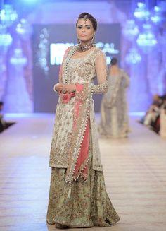 Bridal Dresses 2015 | Latest Bridal Dresses By Nickie Nina At PFDC