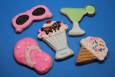 Summer Cookies by Nadia Bakes, via Flickr