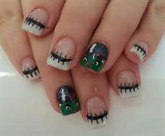 halloween nails pinterest - Bing Images