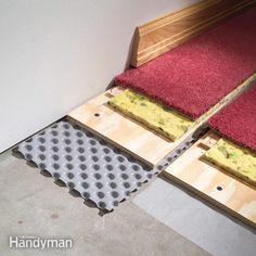 How to Carpet a Basement Floor: The Family Handyman