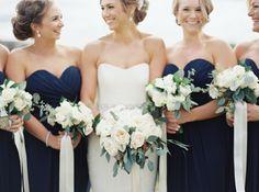 Photography: When He Found Her, Reid Lambshead - whenhefoundher.com Read More: http://www.stylemepretty.com/2015/03/02/navy-ontario-golf-club-wedding/