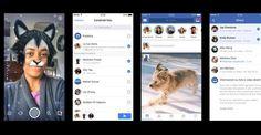 Facebook Stories funziona come le Storie di Snapchat e Instagram, con gli utenti che hanno la possibilità condividere foto e video che scompaio