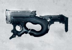 Speed painted SMG light by torvenius on DeviantArt