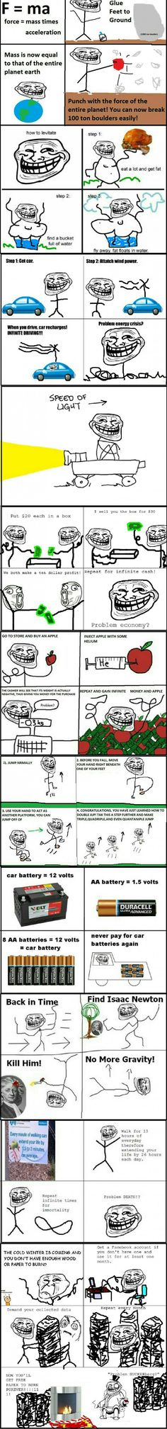 Troll physics part 2