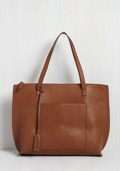 Necessity Slicker Bag in Cinnamon