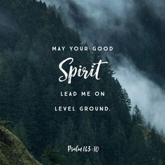 Psalms Teach me to do your will, for you are my God. May your gracious Spirit lead me on level ground. Bible Verses Quotes, Bible Scriptures, Faith Quotes, Psalm 143 10, La Sainte Bible, Spirit Lead Me, Holy Spirit, Biblia Online, Christen