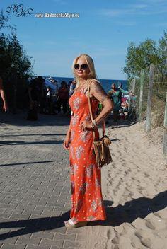 Babooshka Style - Blog modowy: Maxi orange