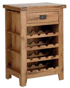 Richmond Oak Wine Cabinet