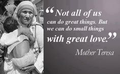 Image result for st teresa of calcutta - quotes and images