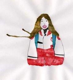 bubble up #illustration #highschool #bubblegum  http://dettapini.blogspot.it/2012/06/bubble-up.html
