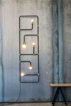 A different kind of wall sconce