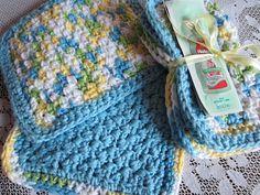 Simple Homecraft: Homemade Gift Series #11 - Baby Washcloths