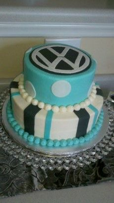 VW Grooms Cake By Confectionate Cakes Raleigh NC