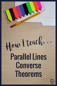 These teaching tips will help high school geometry students understand parallel lines proofs. I love this free hands on activity!