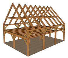 Timber Frame Kits - Kennebec Timber Framing