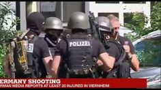 Mass Shooting at Cinema Theater in Viernheim, Germany - 50 citizens were injured; the psychopath gunman was shot dead by the police.